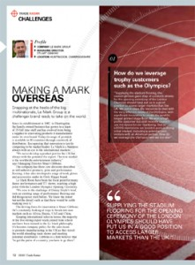 Feature writing for financial services B2B magazine for business owners