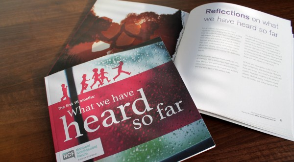 NCF report What We Have Heard So Far edited by Words Are Everywhere