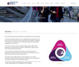 Aquila Insight website written by edinburgh copywriter Gill Booles