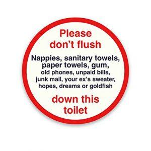 Virgin Trains toilet sign